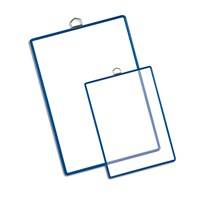 Tarifold Askılı Poşet A4 (5 Adet) Şeffaf/Mavi 15450125