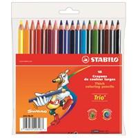 Stabilo Trio Kalın Kuru Boya 18 Renk