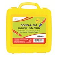 Dong-A 24 Renk Pastel Boya (Plastik Çantalı)