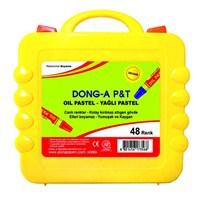 Dong-A 48 Renk Pastel Boya (Plastik Çantalı)