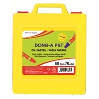 Dong-A 70 Adet 60 Renk Pastel Boya Plastik Çantalı