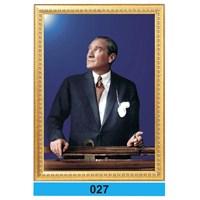 İnter 50x70 cm Varaklı Atatürk Portresi İNT-027