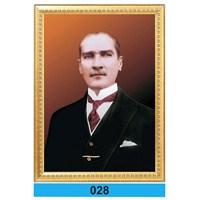 İnter 50x70 cm Varaklı Atatürk Portresi İNT-028