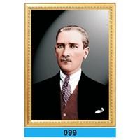 İnter 50x70 cm Varaklı Atatürk Portresi İNT-099