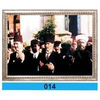 İnter 50x70 cm Varaklı Atatürk Portresi İNT-014
