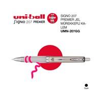 Uni-ball Signo 207 Premier Jel Mürekkepli Kalem 0,7 Siyah Mürekkep 1'li (UMN-207GG)