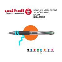 Uni-ball Signo 207 Needle Point İğne Uçlu Jel Mürekkepli Kalem 0,7 1'li (UMN-207ND)