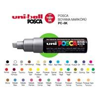 Uni Posca Metalik Renk Boyama Markörü 8K 1'li (PC-8K)