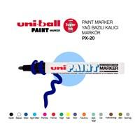 Uni Paint Marker Yağ Bazlı Kalıcı Markör 1'li (PX-20)