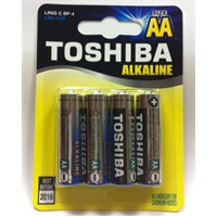 Toshiba LR6G Alkalin AA 4'lü Kalem Pil