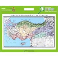 35x50 Kabartma Türkiye Bölgeler Haritası