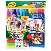 Crayola Keçeli Kalem Ve Çıkartma Seti
