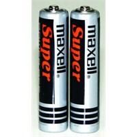Maxell R03 Çinko Karbon İnce Kalem Pil 2'Li Shrink