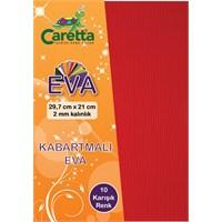 Caretta Eva A4 Çizgi Kabartmalı 10' Lu