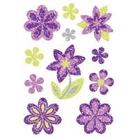 Herma Çocuk Etiketleri Renkli Çiçekler