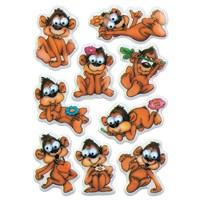 Herma Çocuk Etiketleri Maymun