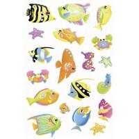 Herma Çocuk Etiketleri Balıklar Kristal