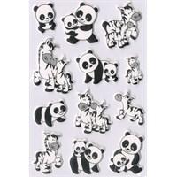 Herma Çocuk Etiketleri Panda