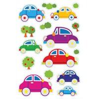 Herma Çocuk Etiketi Renkli Arabalar