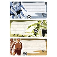 Herma Okul Etiketi Futbol