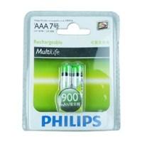 Philips R03B2A90 AAA 900 Mah Şarj Edilebilir 2'Li İnce Kalem Pil
