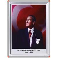 Panda 411 35X50 Atatürk Portresi (Alüminyum Çerçeve)