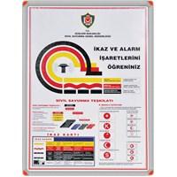 Panda 507 50X70 İkaz ve Alarm İşaretleri (Alümiyum Çerçeve)