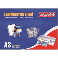Bigpoint Laminasyon Filmi A3 125 Micron