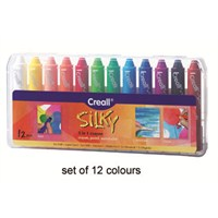 Creall Silky Crayon 12'li