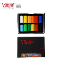 Vincent Soft Pastel 12'li Set Yarım Boy