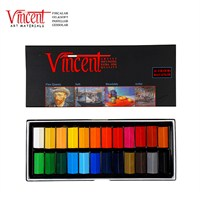 Vincent Soft Pastel 24'lü Set Yarım Boy