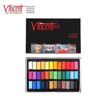 Vincent Soft Pastel 36'lı Set Yarım Boy