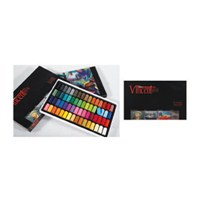 Vincent Soft Pastel 64'lü Set Yarım Boy