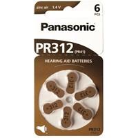Panasonic Zinc Air 1,4V İşitme Cihazı Pili 6'lı Paket