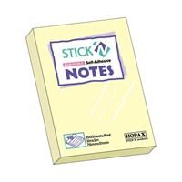Hopax Yapışkanlı Not Kağıdı 51x76mm 100 yp. Sarı