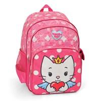 Angel Cat Sugar Okul Çantası 32*36*14 cm (Pembe)