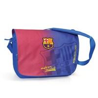 Barcelona Postacı Çanta 39*31*12 cm (Bordo-Mavi)