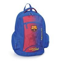 Barcelona Okul Çantası 32*44*17 cm (Bordo-Mavi)