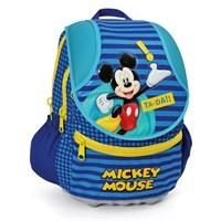 Mickey Mouse Anatomık Okul Çantası 24*39*16 cm (Lacivert-Sarı)