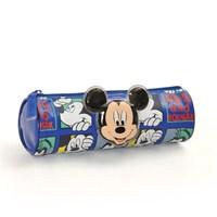 Mickey Mouse Kalem Çantası 21*7*7 cm (Lacivert )