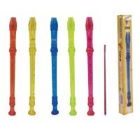 Lino LN-16 Flüt Şeffaf Karışık Renkler Kutulu