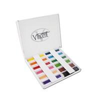 Vincent Jumbo Maxi Renkli Sap Kuru Boya Kalemi 144'lü Karton Kutu Set