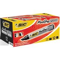 Bic Marker 2300 Kesik Uç 12'Li Kutu Siyah (8209263)