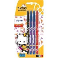 Bic Hello Kitty Tükenmez Kalem Asorti 4'Lü Blister