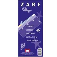 Yener M000166 Diplomat Zarf 105X240 110gr Extra Pen. 25'li