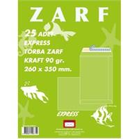 Yener M000194 Torba Zarf 260x350 90gr Kraft 25'li