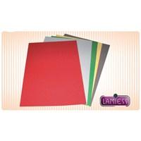Lamiess A4 Karton (Deri Desen) Renkli Cilt Kapağı 100'lü Pk. 240 gr.(153 02 0159)