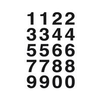 Herma Poşet Etiket 0-9 Sayı 20*18 mm