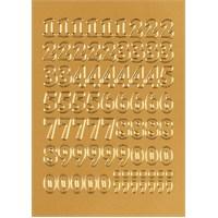 Herma Poşet Etiket 0-9 Altın 12mm