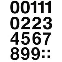 Herma Poşet Etiket 0-9 Sayı 33 mm